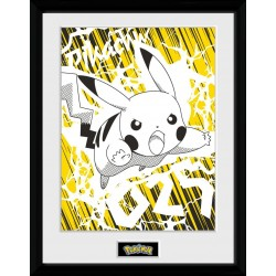POKEMON - Pikachu Bolt - Collector Print '30x40cm' 193492  Posters