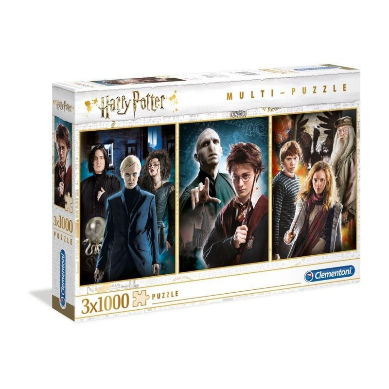 HARRY POTTER - Pack of 3 puzzles 1000P 193515  Puzzels