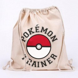 POKEMON - Trainer - 100% cotton bag 42x37cm 193517  Sport Tassen