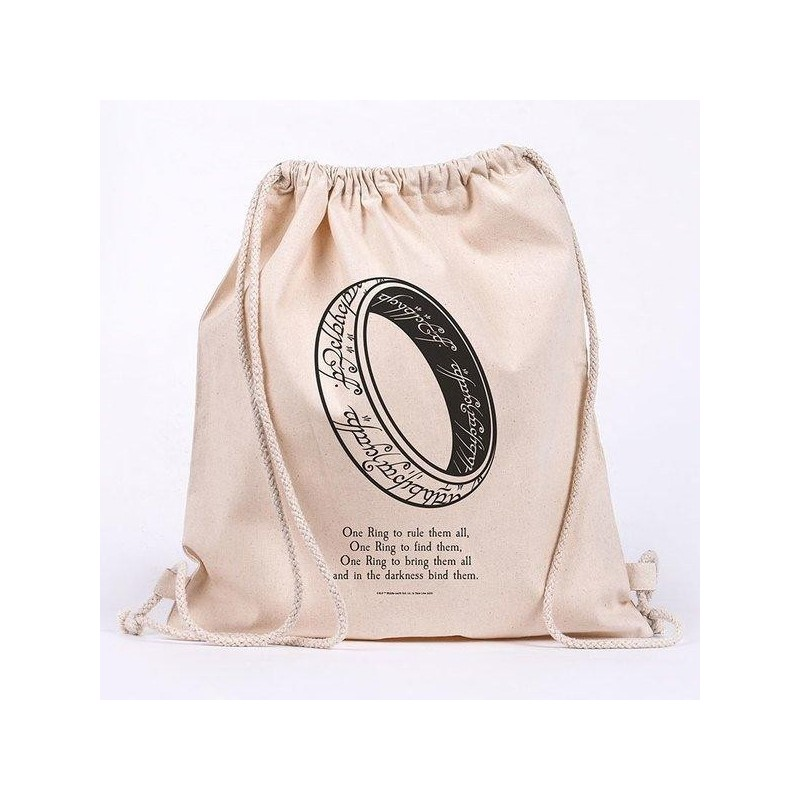 LORD OF THE RINGS - One Ring - 100% cotton bag 42x37cm 193521  Sport Tassen