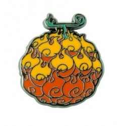ONE PIECE - Flame-flame Fruit - Pin's 193653  Pin & Spelden