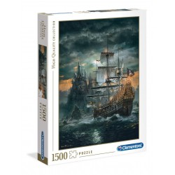 THE PIRATE SHIP - Puzzle 1500P 193660  Puzzels
