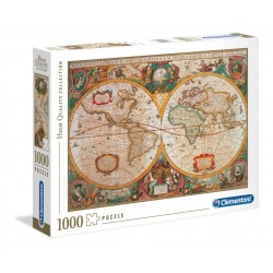 OLD MAP - Puzzle 1000P 193663  Puzzels