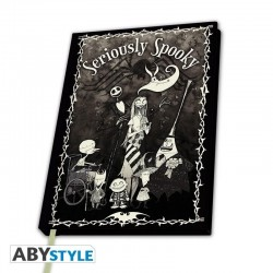 Nightmare Before Christmas - Seriously Spooky - Notitieboek A5