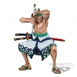 ONE PIECE - Roronoa Zoro The Brush - Super Master Stars Piece 22cm