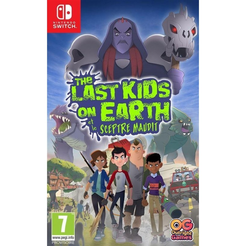 The Last Kids on Earth and The Staff of Doom 193787  Nintendo Switch
