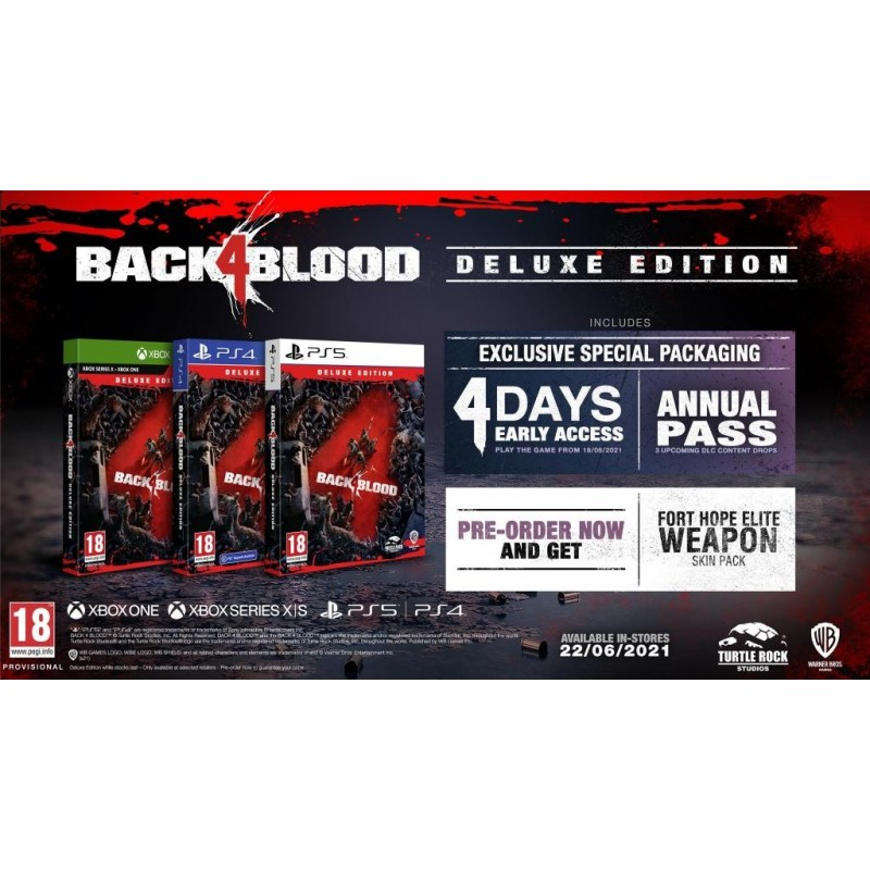 Back 4 Blood Deluxe Edition - Playstation 5  193832  Playstation 5