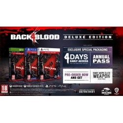 Back 4 Blood Deluxe Edition - Playstation 4  193834  Playstation 4