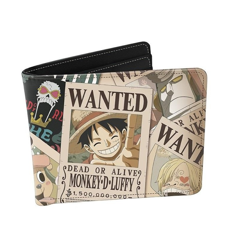 ONE PIECE - Wanted - Vinyl Wallet 193990  Portefeuilles