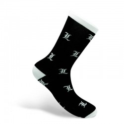 DEATH NOTE - L - Socks (One Size Adult)