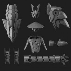 30MM - 1/144 Option Parts Set 4 (Sengoku Armor) - Model Kit 194023  Modelbouw