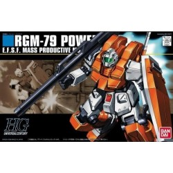 GUNDAM - HGUC 1/144 RGM-79 Powered GM - Model Kit