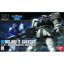 GUNDAM - HGUC 1/144 F2-Zaku (Earth Federation Type) - Model Kit 194058  High Grade (HG)