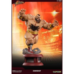 STREET FIGHTER - Zangief 1:4 Scale Stature - 69cm 165221  Street Fighter