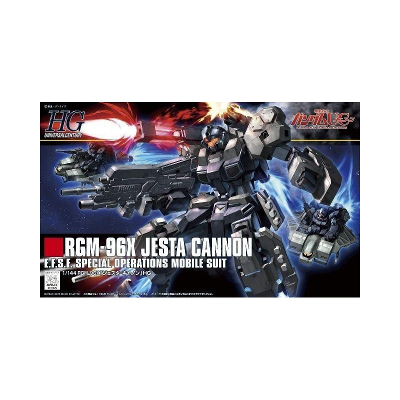 GUNDAM - HGUC 1/144 Jesta Cannon - Model Kit 194067  High Grade (HG)