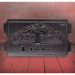 FALLOUT - Nuka World - Silver Plated Collector Ticket 194315  Allerlei