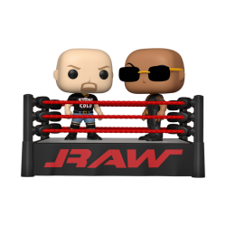 WWE - Pop Moments N° xxx - The Rock vs Stone Cold in Wrestling Ring 194349  Action Figure