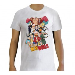 ONE PIECE - New World - Men's T-Shirt - (XS) 194437  T-Shirts