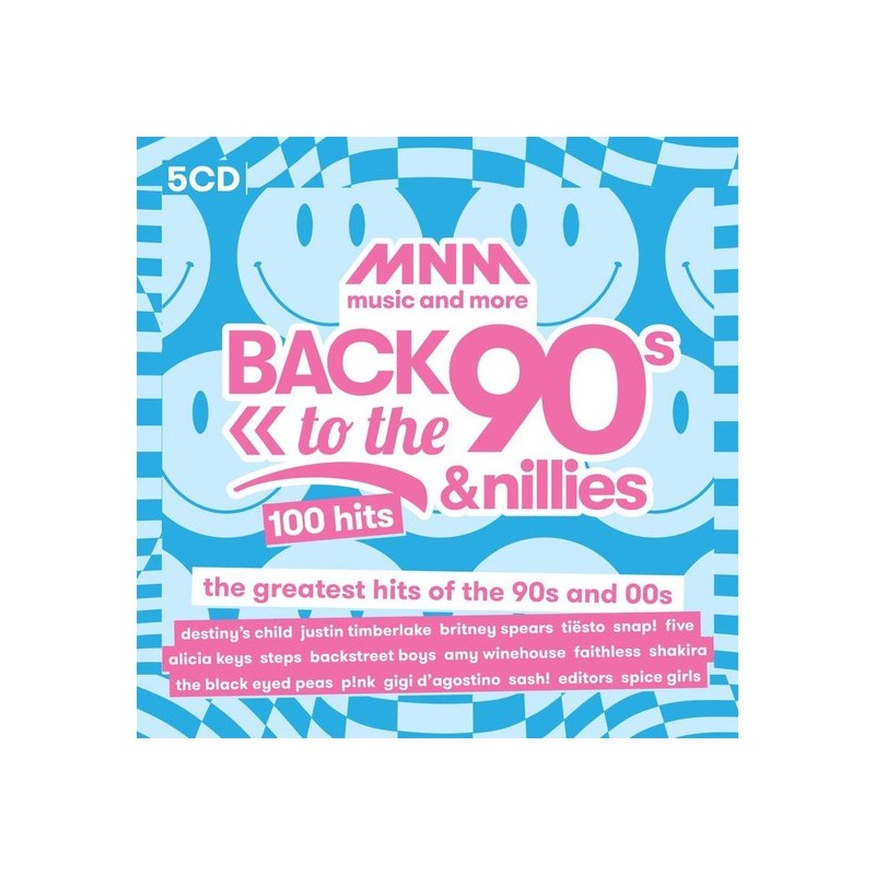 MNM - Back To 90S & 00S - 100 Hits (5CD) 3557  CD's