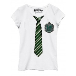 HARRY POTTER - T-Shirt Slytherin Disguise - GIRL (L) 165132  T-Shirts Harry Potter