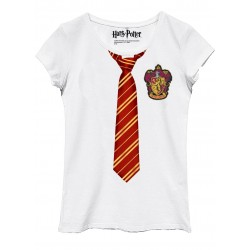 HARRY POTTER - T-Shirt Gryffindor Disguise - GIRL (L) 165127 T-Shirts