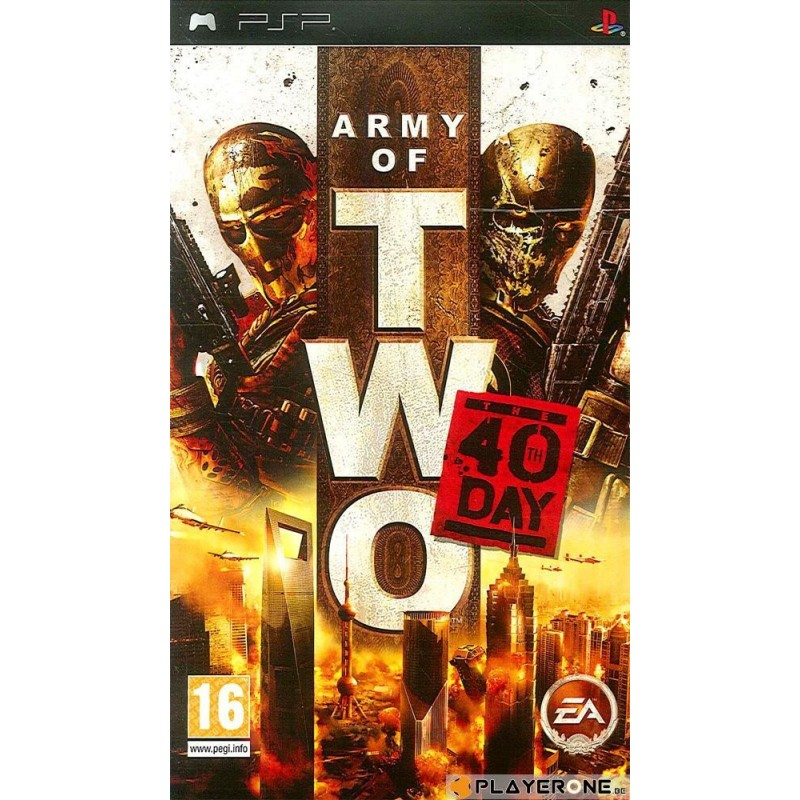 Army of Two : The 40th Day - Playstation Portable  123238  PSP