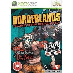 Borderlands Game Add On Pack - Xbox 360  124023  Xbox 360