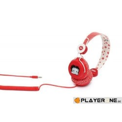 COLOUD - Headphone Betty Boob Red White Dots 127833  PC headsets