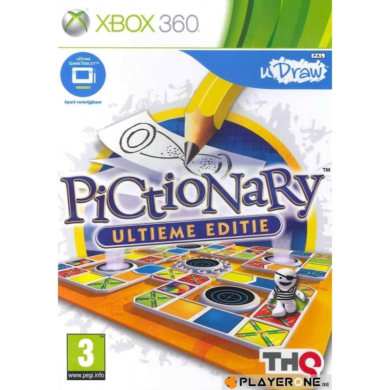 Pictionary Ultimate Edition (uDraw) - Xbox 360  128882  Xbox 360