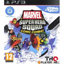 Marvel Super Hero Squad Comic Combat (uDraw) - Playstation 3  128883  Playstation 3