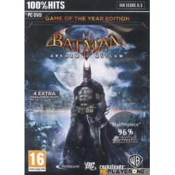 Batman Arkham Asylum - PC Game  133313  PC Games