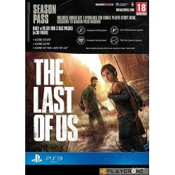 The Last of Us - SAISON PASS (Belgium Only) - Playstation 3  136499  Playstation 3