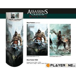 ASSASSIN CREED 4 - Display 56 Posters (61X91) : 28 X B.Flag 28 X Edw. 136895  Posters