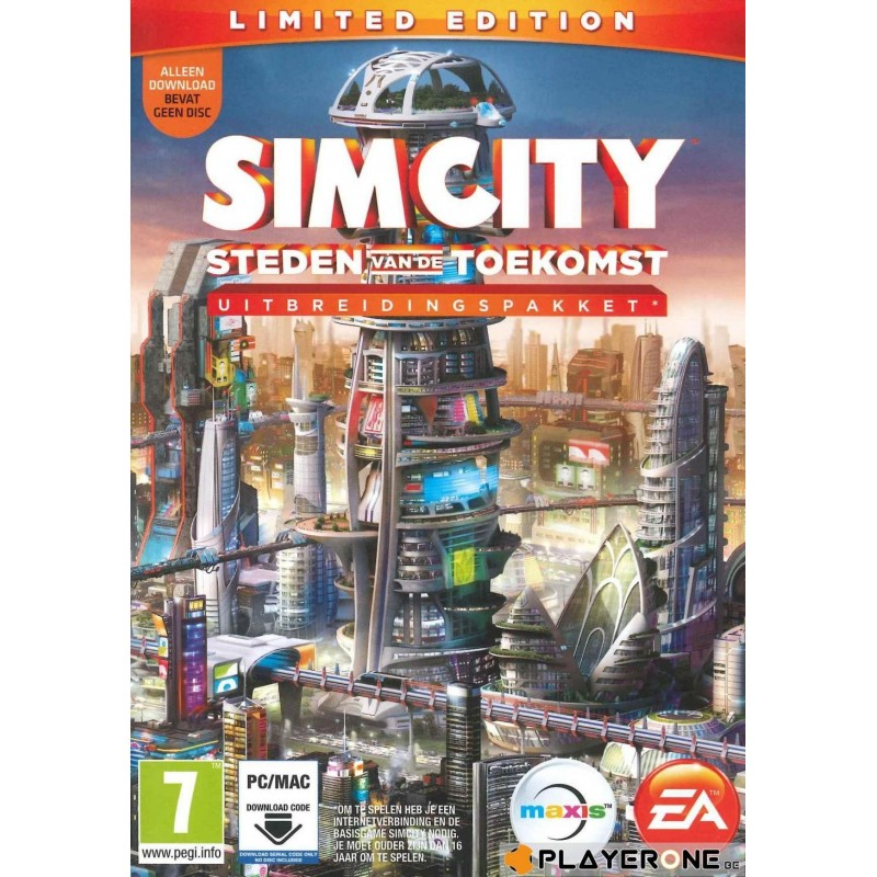 SIMCITY : Steden van de Toekomst LIMITED EDITION (CODE IN BOX) - PC Game  136950  PC Games