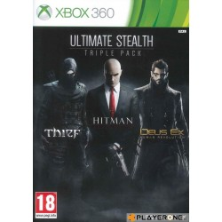ULTIMATE STEALTH Triple Pack (Thief + Hitman + Deux Ex Rev) - Xbox 360  140626  Xbox 360