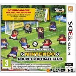 Pocket Football (CODE IN BOX) - 3DS  141014  Nintendo 3DS