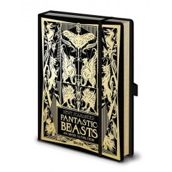 FANTASTIC BEASTS 2 - Notebook A5 Premium - Where to Find Them