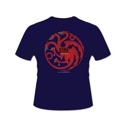 GAME OF THRONES - T-Shirt - Fire and Blood Targaryen (M) 143140  T-Shirts
