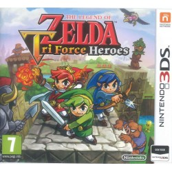 ZELDA Tri Force - 3DS  144717  Nintendo 3DS