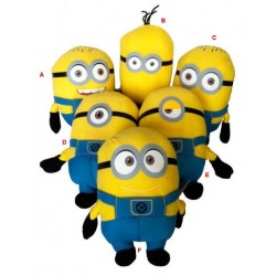 MINIONS - Knuffel 15 cm - Despicable Me 2 - Pack van 6