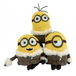 MINIONS - Knuffel 15 cm - ICE VILLAGE - Pack of 3