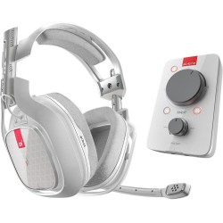 ASTRO - Gaming Headset - A40 MixAmp Pro TR - White (XBONE/PC/MAC) 147283  Game Headsets