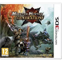 Monster Hunter Generations - 3DS  151075  Nintendo 3DS
