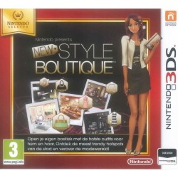 New Style Boutique - SELECT - 3DS  151094  Nintendo 3DS