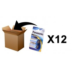 PANASONIC Batterijen -  Evolta C-LR14 X 2 - Box 12 Pack