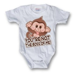 GEEK - Baby Body - Youre Not The Boss (6 Month)