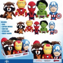 MARVEL - Knuffel With Sound Medium - Display 6 pces