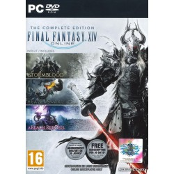 Final Fantasy XIV Complete Edition RealmReborn+Heavensweard+Stormblood - PC Game  157430  PC Games
