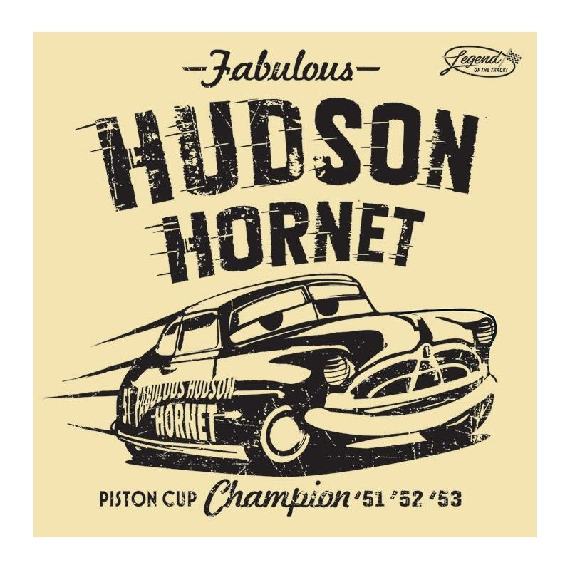 CARS - Canvas 40X40 '18mm' - Hudson Hornet 158734  Posters