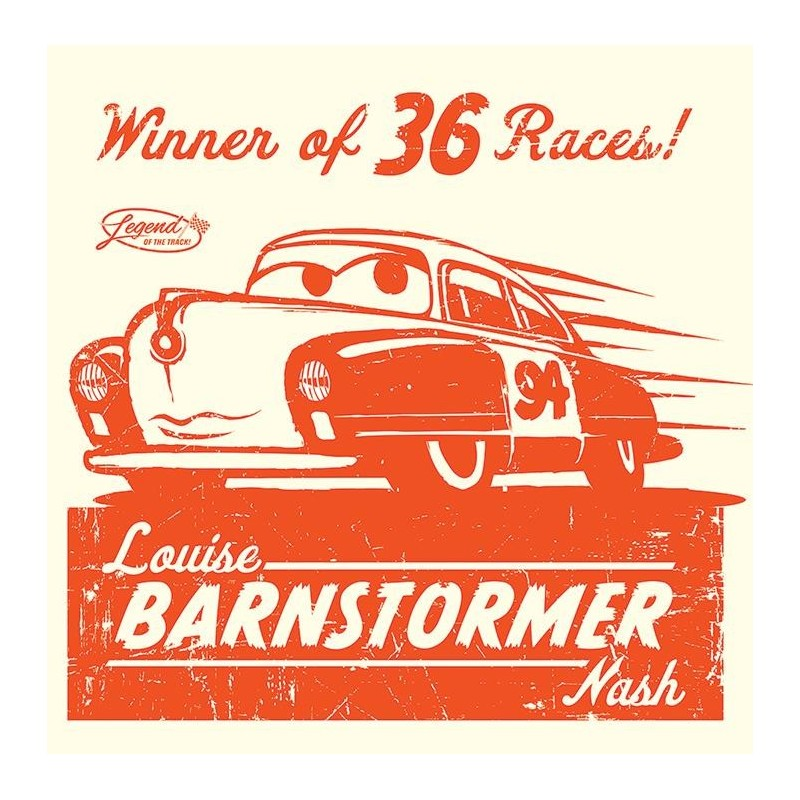 CARS - Canvas 40X40 '18mm' - Louise Barnstormer 158735  Posters
